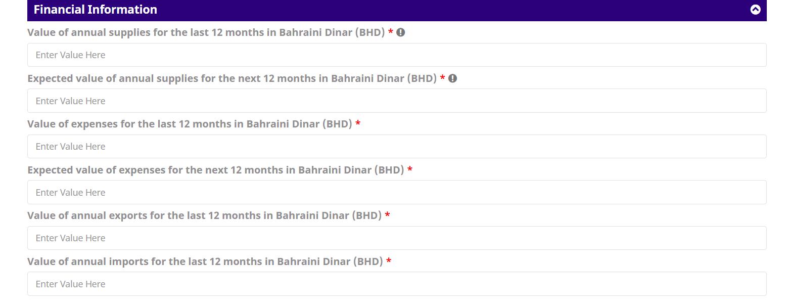 financial information in bahrain vat registration.png
